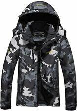 New listing Men's Ski Jacket Fleece Windproof Mountain Winter Snow Jacket, Coat with Hood