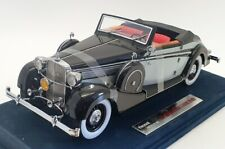 Signature Models 1/18 Scale 38205 - 1937 Maybach SW38 2 Doors Sophn - Black