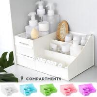 Makeup Drawer Organizer Jewelry Cosmetic Desktop Storage Box Container Case