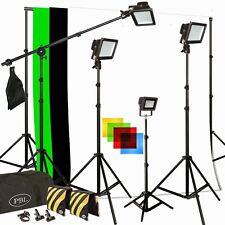 Photo Video Studio LED PowerLight 350W Light Kit Boom Chromakey Support System
