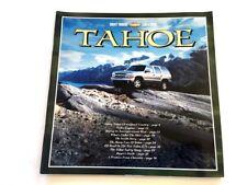2001 Chevrolet Tahoe 40-page BIG Original Car Sales Brochure Catalog