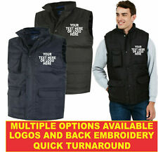 Personalised Embroidered Super Pro Body Warmer UC640 Highest Quality Workwear