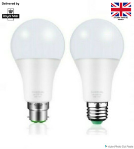 Energy Saving LED Light Bulbs B22 E27 Bayonet Screw Round 3W-12W GLS