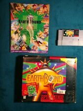 EarthBound SNES Game, Original Box, Player's Guide & Authentic Game Cartridge