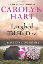 Laughed 'Til He Died Hardcover Carolyn Hart
