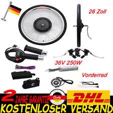 "26"" Elektro Fahrrad Umbausatz Heckmotor 36V 250W Ebike Conversion Kit Vorderrad"
