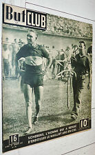 BUT ET CLUB N°78 1947 CYCLISME SPRINT R HARRIS SCHERENS ARC-EN-CIEL AUTO WIMILLE