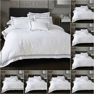 Hotel collection Embroidered Devore Duvet Covers Quilt Bedding Set & Pillowcase