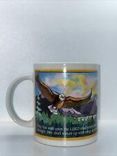 Vintage 1996 Bob Siemon Designs The Source Of Strength 12 oz. Coffee/Tea Mug