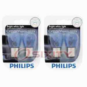 2 pc Philips Front Side Marker Light Bulbs for Mitsubishi Eclipse Mirage cm