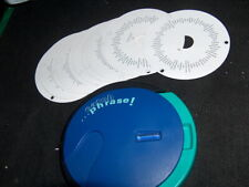 Catch Phrase Card Spinner + 16 disks Replacement game part 1994 cards