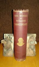 THE COMPLETE WORKS OF WILLIAM SHAKESPEARE in One Volume *circa 1890 VG Condition