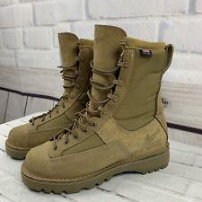 """NEW Men's Danner Duty Combat Leather Boots, Desert Acadia 8"""" Tan 26000 Sz 8 D"""