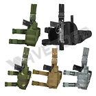 VISM NcSTAR Universal Drop Leg Adjustable Tactical Pistol Holster Right Handed
