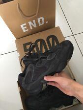 adidas yeezy 500 black uk 10 brand new with box