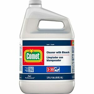 Comet Liquid Cleaner with Bleach 1 Gallon Case of 3