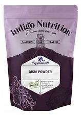 MSM Crystal Powder - 1kg - (Quality Assured) Indigo Herbs