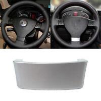 1Pc Chrome Emblem Steering Wheel Cover for VW Jetta 04-09 Passat 3C/B6 05-09 Eos