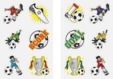 576 x Football Design Temporary Tattoos
