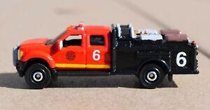 Custom Matchbox Vehicle - Fire Truck / Brush Unit 6