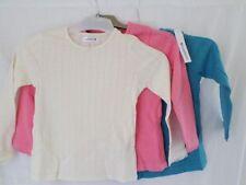 T-shirts, hauts et chemises multicolore pour fille de 2 à 16 ans en 100% coton, taille 3 - 4 ans