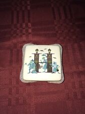 Disney Parks H for Haunted Mansion Trinket Box Alphabet ABC Collection NEW