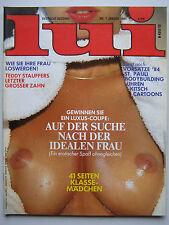 D - Lui 1/1984,  Barbara Carrea, David Hamilton, Nina Hagen, Jamie Lee Curtis
