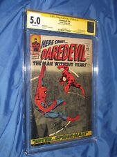 DAREDEVIL #16 CGC 5.0 SS Signed by John Romita Sr  (1st Amazing Spiderman Art)