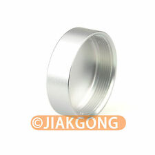 Silver Metal C mount Rear Lens Cover Cap CCTV TV Lens