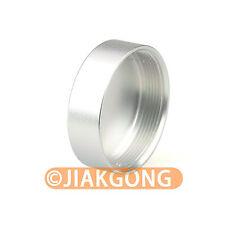 Silver Metal C mount Rear Lens Cover Cap CCTV TV Lens