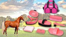 Pferdepflegeset Pink Putzset Putzbox Tasche