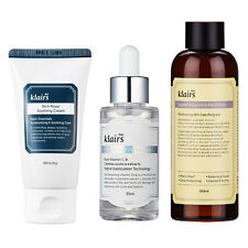 [KLAIRS] Best Selling Set Supple Toner , Vitamin Drop , Moist Soothing Cream Set