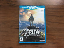 🔥The Legend of Zelda: Breath of the Wild - Wii U🔥[US version / Free Shipping]