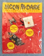 MOON McDARE SPACEMAN ACCESSORIES - BLACK COMPASS, BINOCULARS - CARDED - 1965