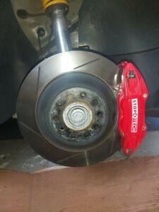 Stoptech 4 Kolben Bremsanlage Bremse 328mm A3 TT Golf Scirocco Leon No Brembo