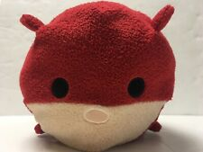 """Marvel Plush Tsum Tsum Daredevil Dd Stuffed Animal Toy Red White 12"""" Disney"""