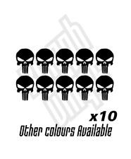 10 Mini Punisher vinyl sticker decal marvel comic film car ipad window optional