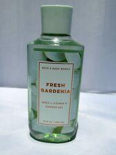 Fresh Gardenia Bath and Body Works ALOE Shea Butter Body Wash Shower Gel 10 oz