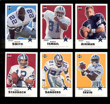 1999 Retro Dallas Cowboys Set ROGER STAUBACH EMMITT SMITH TROY AIKMAN D. SANDERS