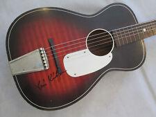 Barclay (Harmony) parlour size acoustic guitar - blues.