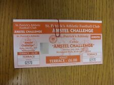 18/07/1997 Ticket: St Patricks Athletic v Celtic [Festival Of Football] (complet
