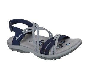 Skechers NEW Reggae Slim Takes Two sporty comfort vegan trail sandals sizes 3-9