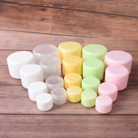 Refillable Bottles Empty Makeup Jar Pot Travel Face Cream Cosmetic Container SL