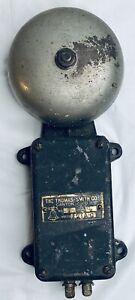 Vintage Fire Alarm Bell.  The Thomas Smith Co.  Canton, Ohio.