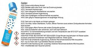 Ardap 750 ml Ardap Ungezieferspray Quiko (1l=16,60€) kostenloser DHL Versand!