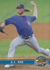 2017 Midland RockHounds AJ Puk RC Rookie Oakland Athletics