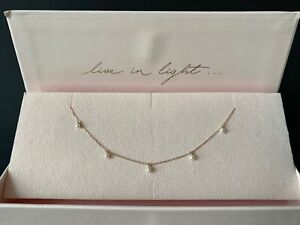 BY CHARLOTTE SOLID 14CT YELLOW GOLD PEACE LOVER CHOKER
