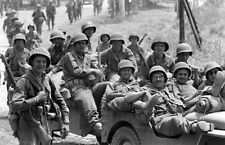 WW2 Photo WWII  US Army Soldiers Near Rome,  Italy 1944 World War Two  / 1410