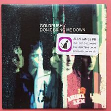 Goldrush - Don't Bring Me Down - 10 Track Album - Card Sleeve - Promo - (CBX342)