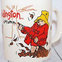 VTG Paddington Bears Autumn Tea Coffee Mug Raised Design Kilncraft England 1995